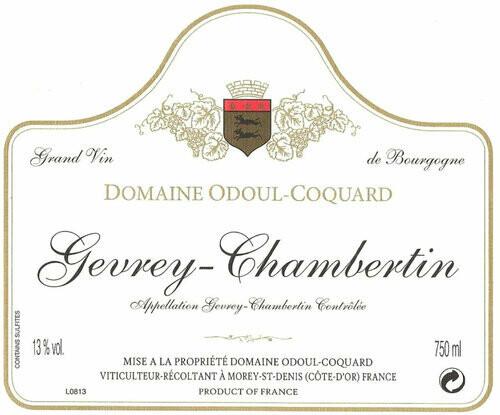Odoul-Coquard Gevrey Chambertin 2015