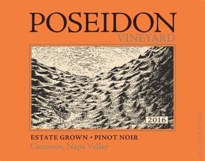 Poseidon Estate Pinot Noir 2016