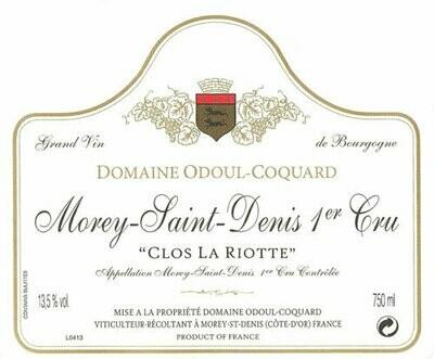 Odoul-Coquard Morey St Denis Clos la Riotte 1er Cru 2014