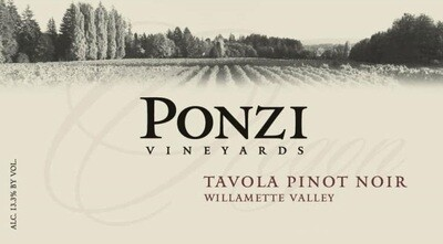 Ponzi Pinot Noir Tavola 2016