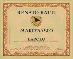 Renato Ratti Barolo Marcenasco 2016