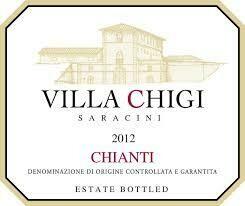 Poggio Bonelli Villa Chigi Chianti 2012