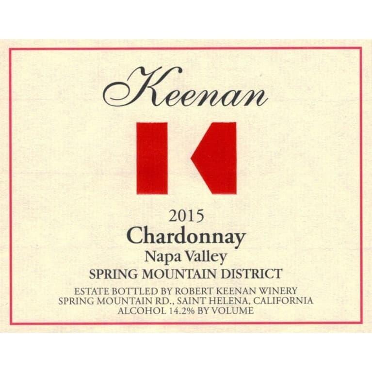 Robert Keenan Chardonnay Keenan 2015