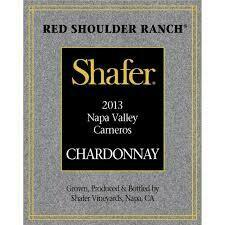 Shafer Chardonnay Red Shoulder Ranch 2013