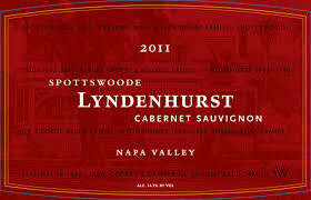 Spottswoode Cabernet Sauvignon Lyndenhurst 2011
