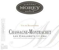 Vincent Morey Chassagne Montrachet les Caillerets 2016