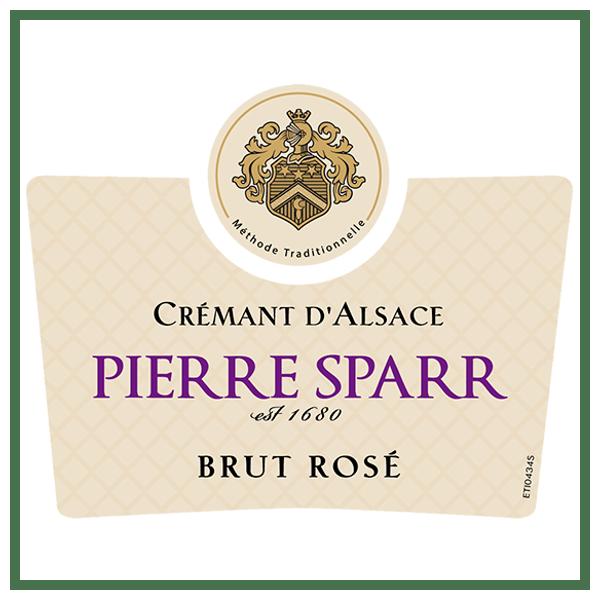 Pierre Sparr Cremant d'Alsace Brut Rose
