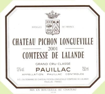 Pichon Lalande 2001 [95pts WE]