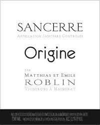 Domaine Matthias & Emile Roblin Sancerre Origine 2018