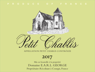 Domaine George Petit Chablis 2017