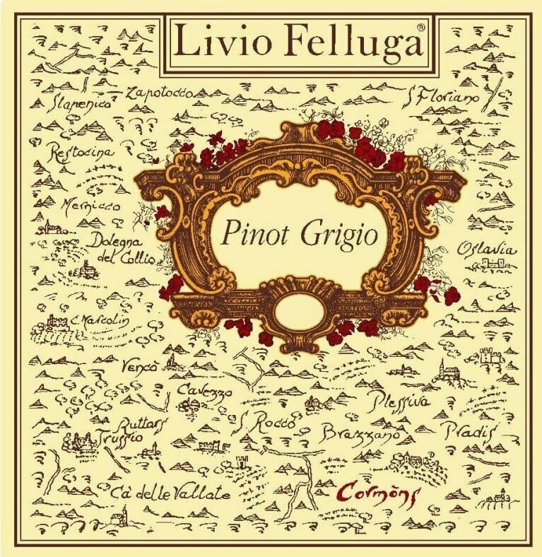 Livio Felluga Pinot Grigio 2017