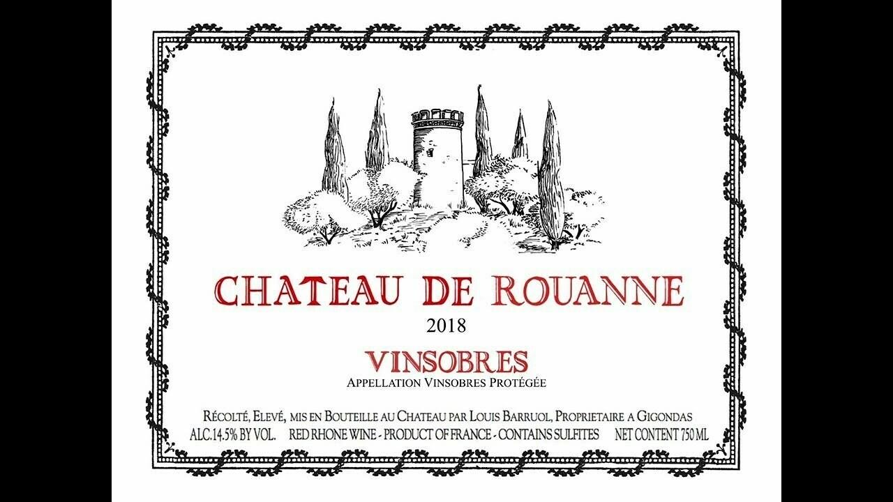 Chateau de Rouanne Vinsobres 2018