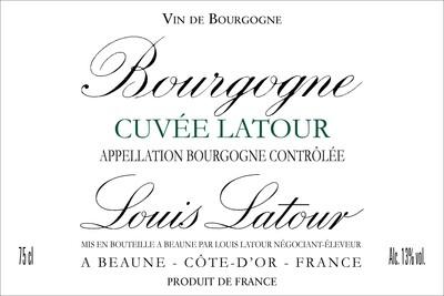 Louis Latour Bourgogne Blanc Cuvee Latour 2018