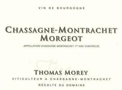 Thomas Morey Chassagne Montrachet Morgeot 2016