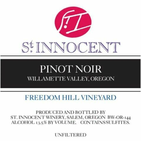 St Innocent Pinot Noir Freedom Hill Vineyard 1999
