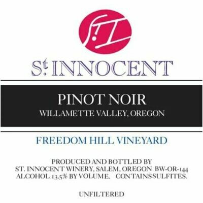 St Innocent Pinot Noir Freedom Hill Vineyard 1999