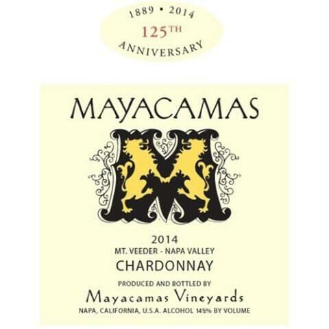 Mayacamas Chardonnay 2014 [96pts AG]