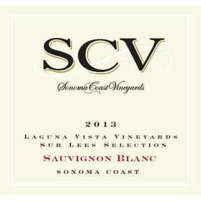 SCV (Sonoma Coast Vineyards) Sauvignon Blanc Laguna Vista Vineyard 2013
