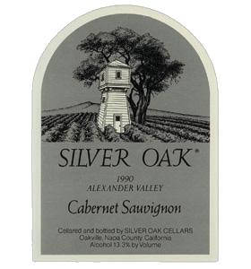 Silver Oak Cabernet Sauvignon Alexander Valley 1990