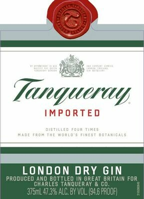 Tanqueray London Dry Gin [96-100pts WE]
