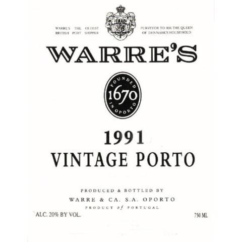 Warre 1991