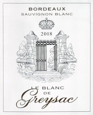 Greysac Blanc 2018 *SALE*