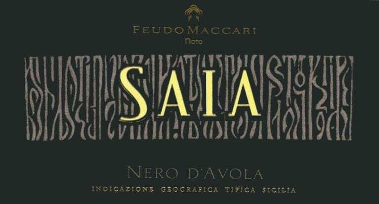 Feudo Maccari Saia 2016 *SALE*