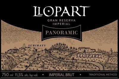 Llopart Panoramic Imperial Brut Gran Reserva 2012 *SALE*