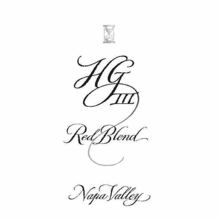 Hourglass HG III Red Blend 2017 *SALE*