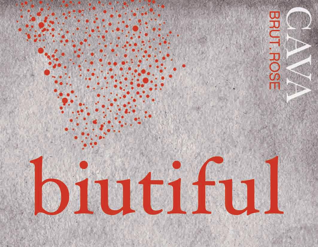 Biutiful Brut Rose Cava *SALE*