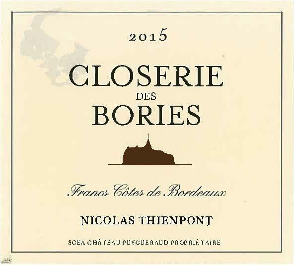 Closerie des Bories 2015 *SALE*