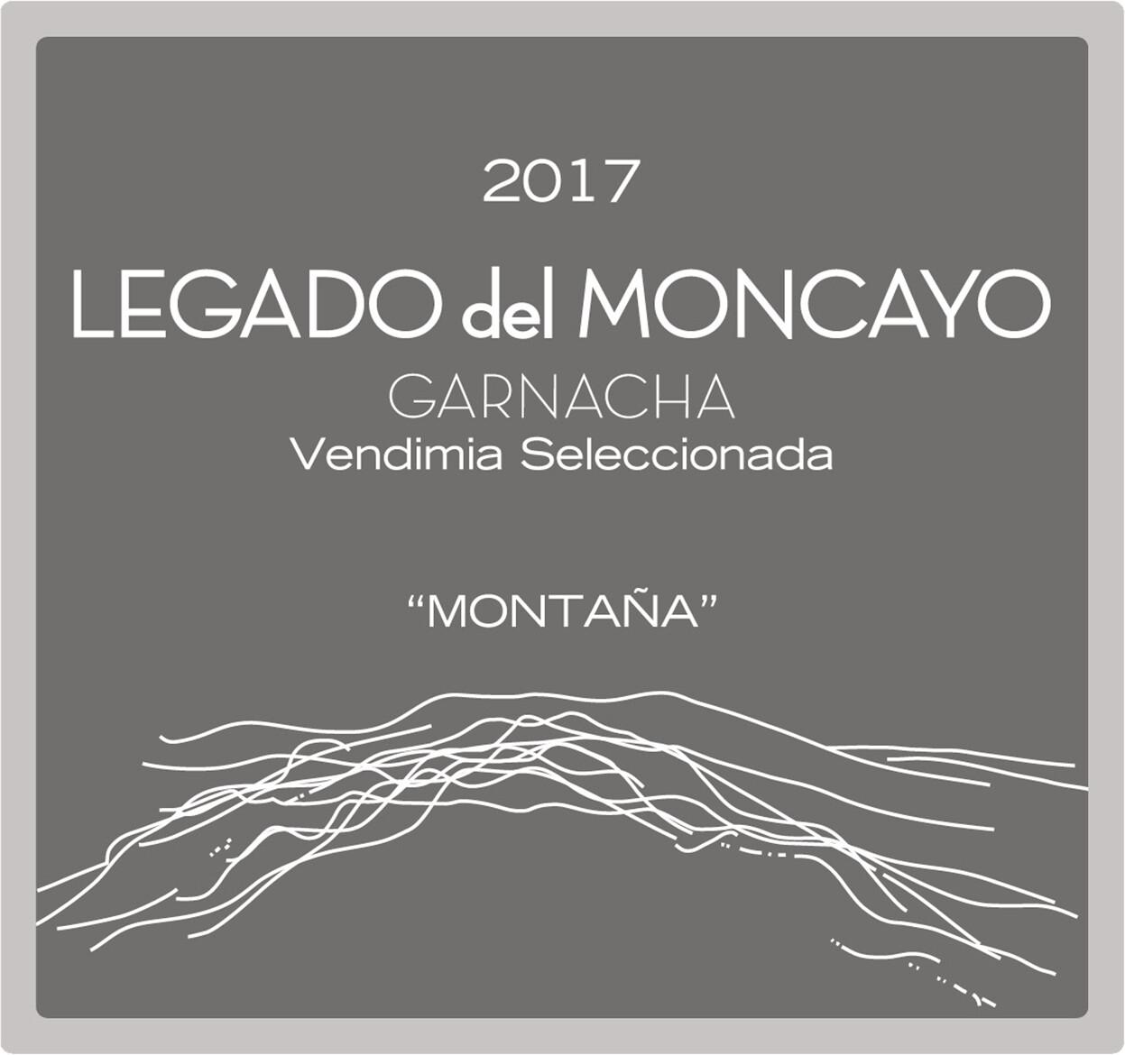 Legado del Moncayo Montana Garnacha Old Vines 2017 *SALE*
