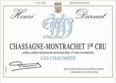 Henri Darnat Chassagne Montrachet les Chaumees 2012 *SALE*