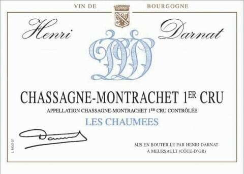Henri Darnat Chassagne Montrachet les Chaumees 2013 *SALE*