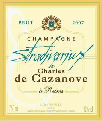 Charles de Cazanove Brut Stradivarius 2007