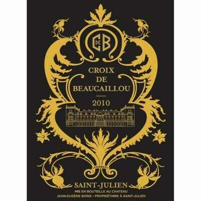 La Croix de Beaucaillou 2010 (3L)