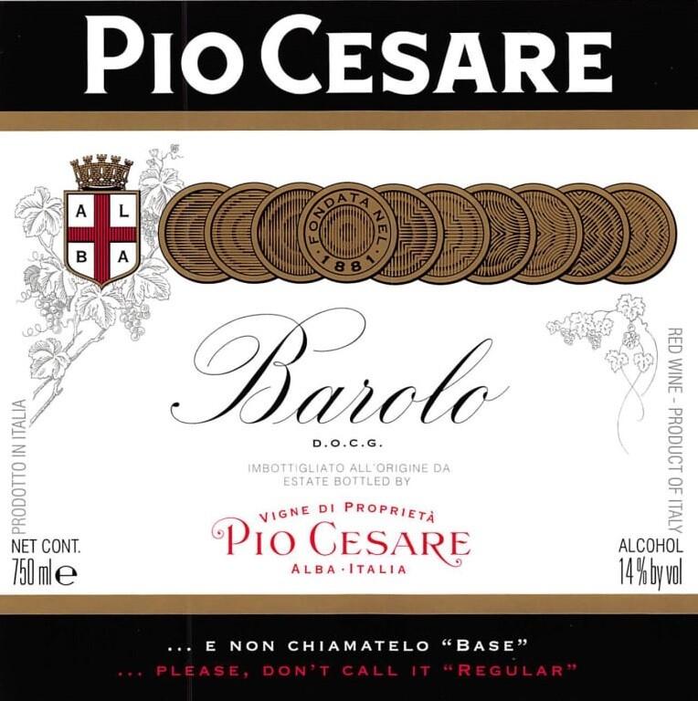 Pio Cesare Barolo 2016 *SALE* [96pts WE]