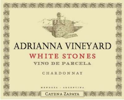 Catena Zapata Chardonnay White Stones Adrianna Vineyard 2017
