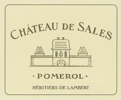 Chateau de Sales 2016 *SALE*