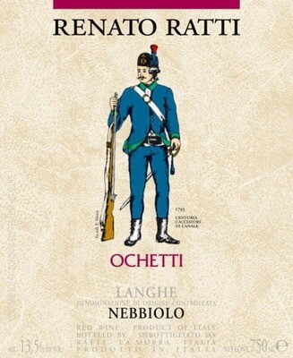 Renato Ratti Ochetti Nebbiolo 2018 *SALE*