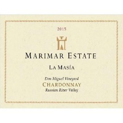 Marimar Estate Chardonnay La Masia Don Miguel Vineyard 2015