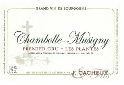 Jacques Cacheux Chambolle Musigny les Plantes 2013