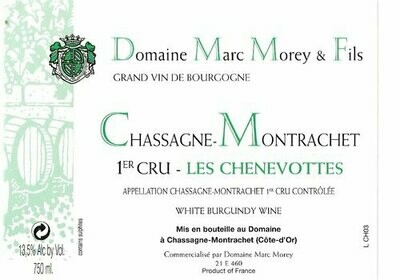 Marc Morey Chassagne Montrachet les Chenevottes 2013