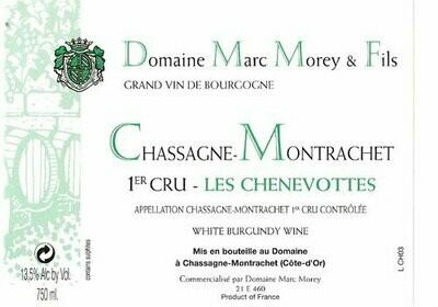 Marc Morey Chassagne Montrachet les Chenevottes 2014