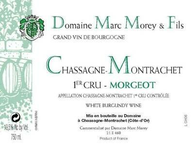 Marc Morey Chassagne Montrachet Morgeot 2014