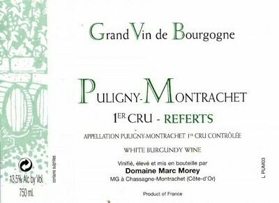 Marc Morey Puligny Montrachet les Referts 2013