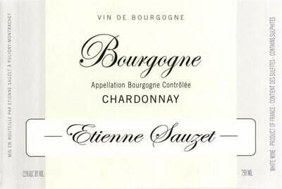 Etienne Sauzet Bourgogne Blanc 2017