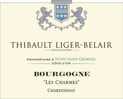 Thibault Liger-Belair Bourgogne Blanc les Charmes 2016
