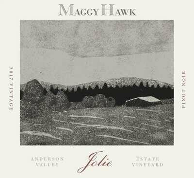 Maggy Hawk Pinot Noir Jolie 2017 *SALE*