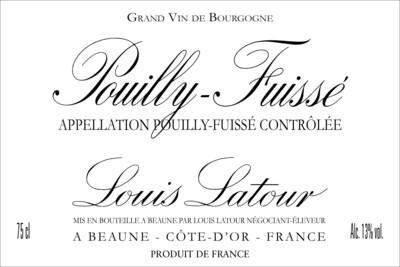 Louis Latour Pouilly Fuisse 2018